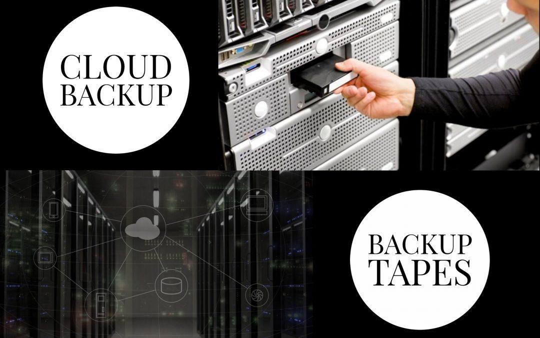 Cloud vs Tape